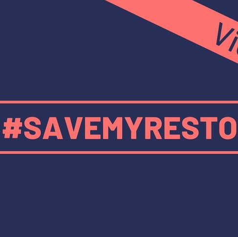 #SAVEMYRESTO
