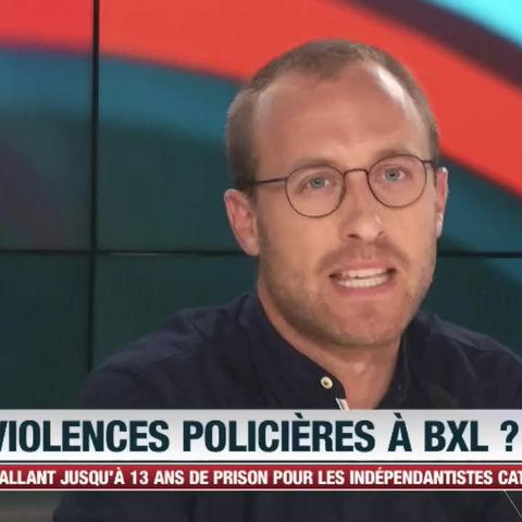 Extinction rebellion et les violences policières