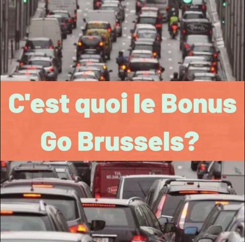 Bonus Go Brussels : réduire les embouteillages à Bruxelles, c'est possible!