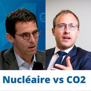 Nucléaire vs CO2