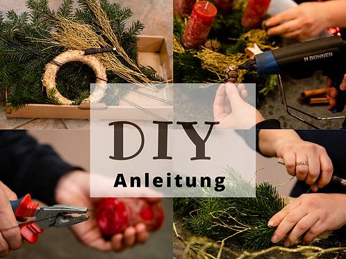 DIY - Adventskranz Anleitung ohne Zubehör