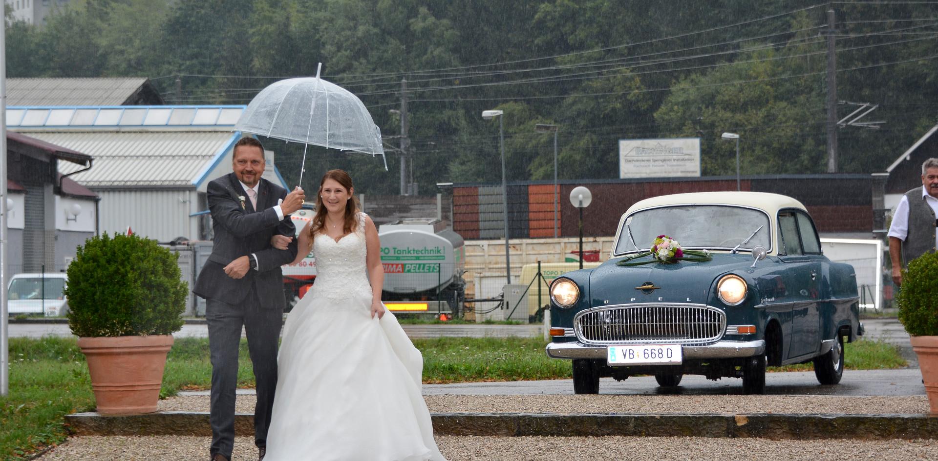 Autogesteck Hochzeit