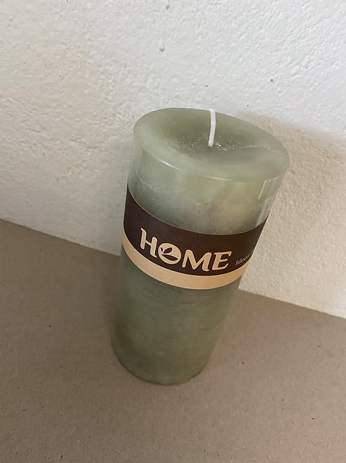 Kerze Home mittel mint durchgefärbt