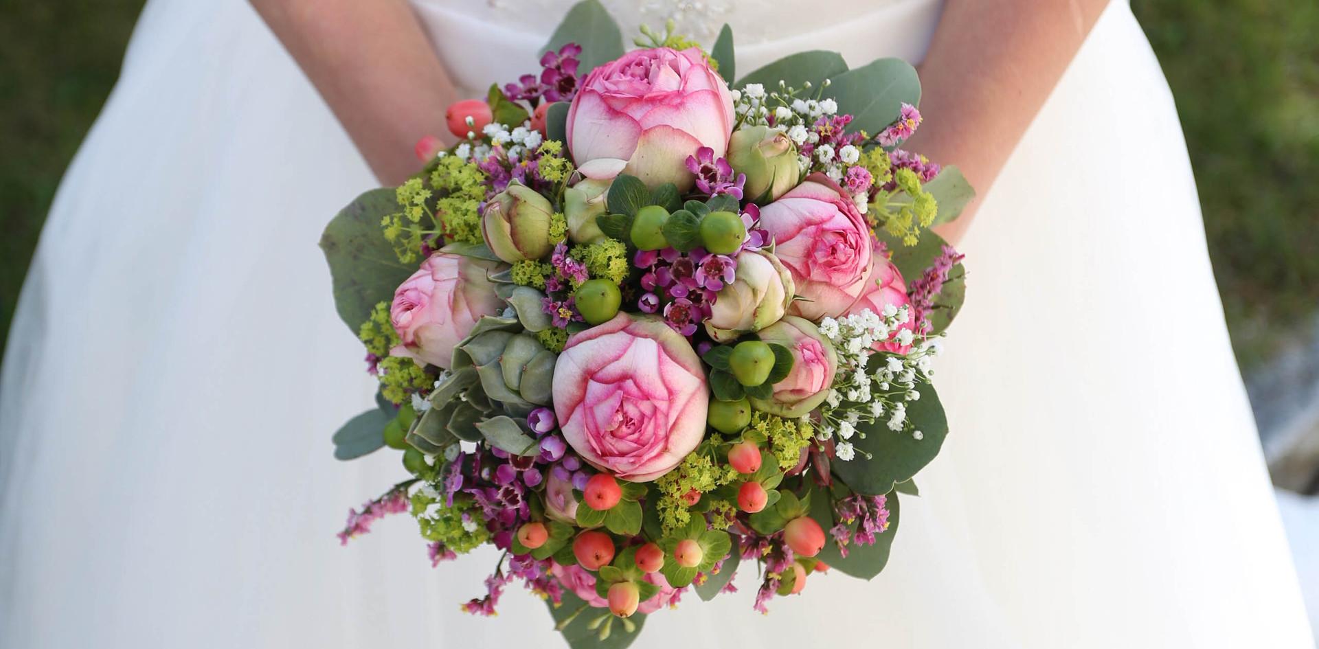 Brautstrauß süß