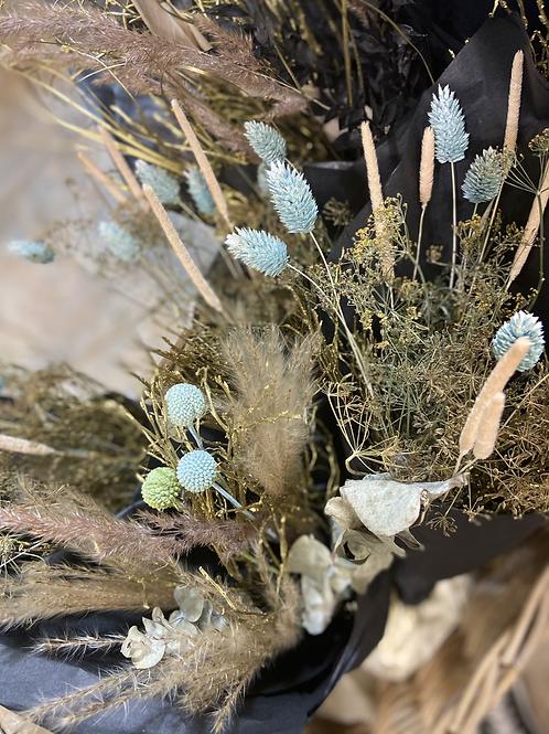 Trockenblumen im Bund Midi