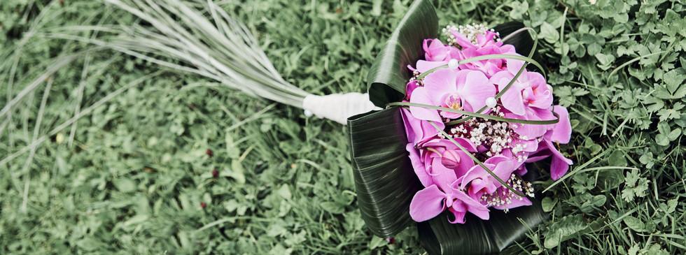 Brautstrauß Orchidee