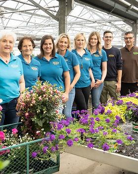 Gärtnerei Thellman Team