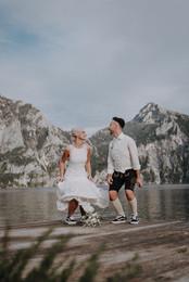Foto:  Viktoria Razesberger aus Enzenkirchen - Foto von Brautpaar erhalten