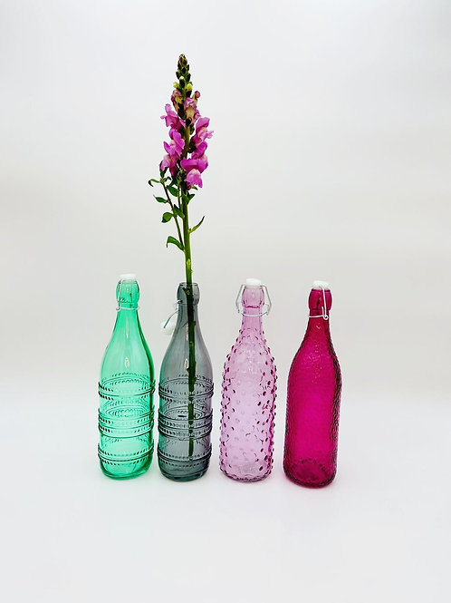 Glasflasche modern