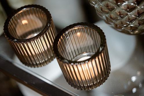 Teelicht Glas modern