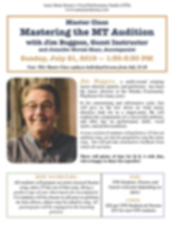7-21-19 Audition & Performance Skills  M
