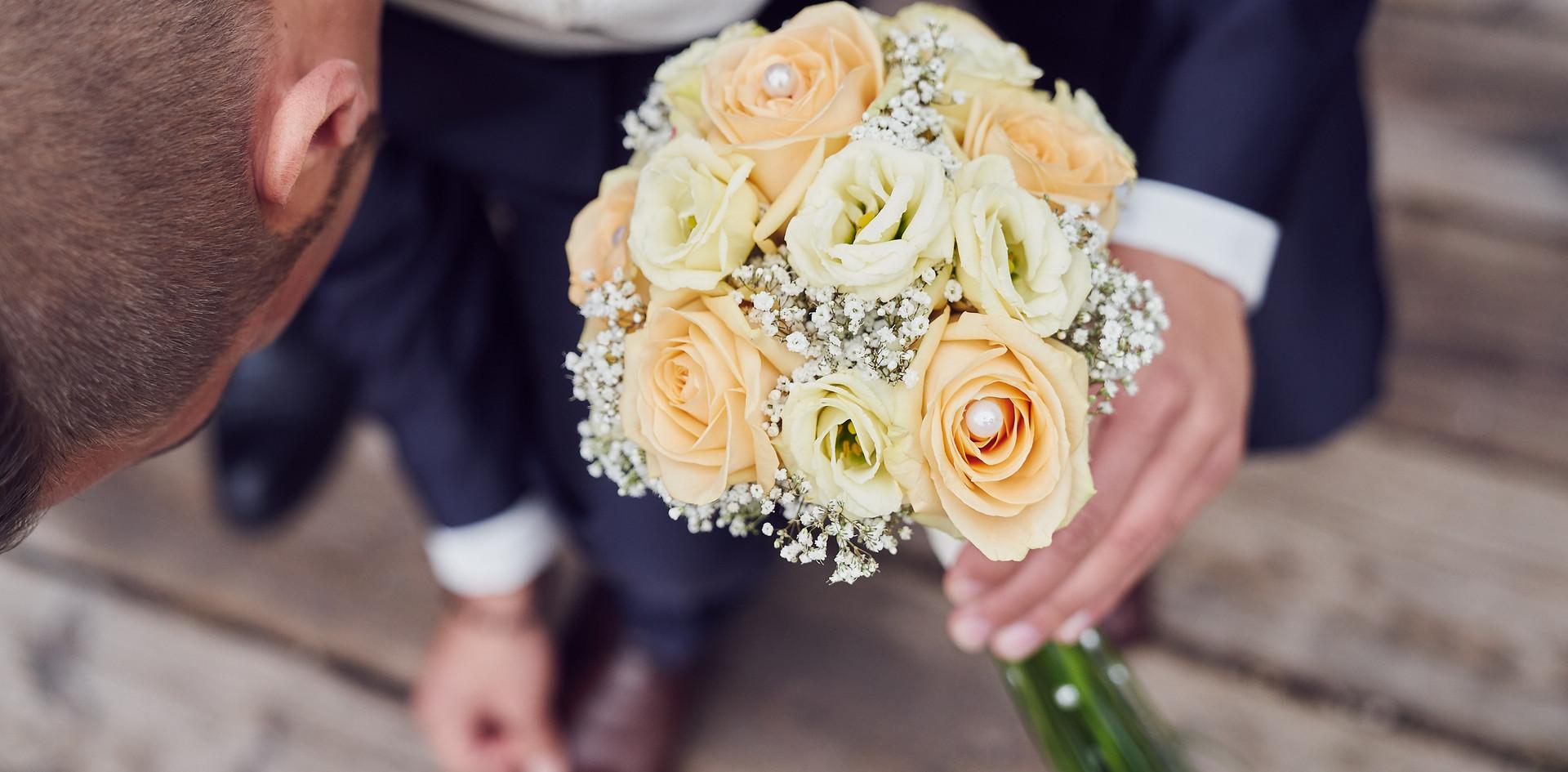 Brautstrauß modern