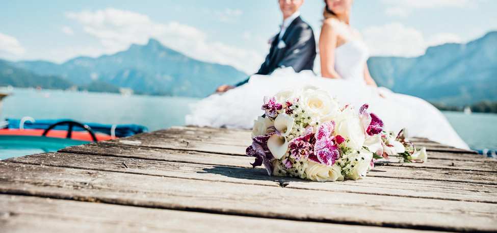 Brautstrauß attersee