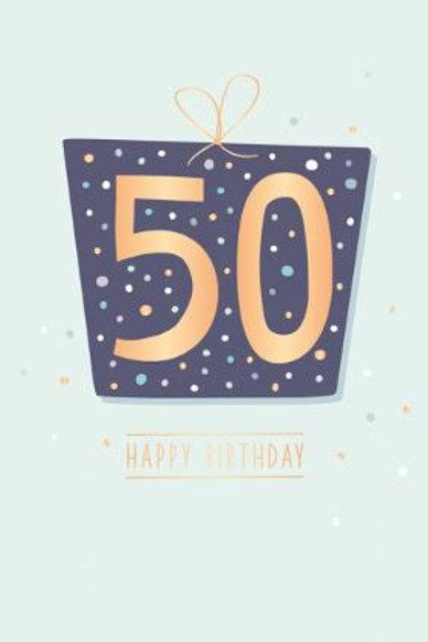 Geburtstag - 50 Jahre