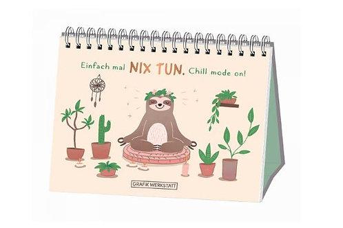 Nix tun - Spiralbuch