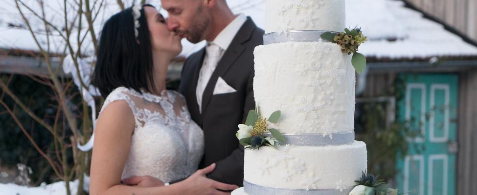 Gasthaus Hochzeit - Tort