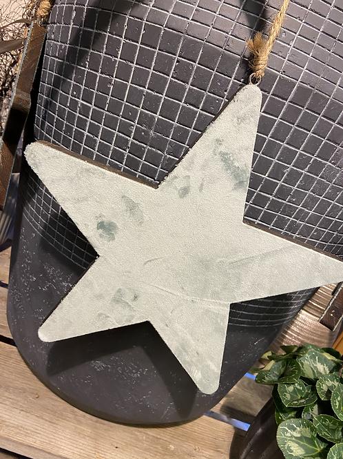 Samt Stern groß