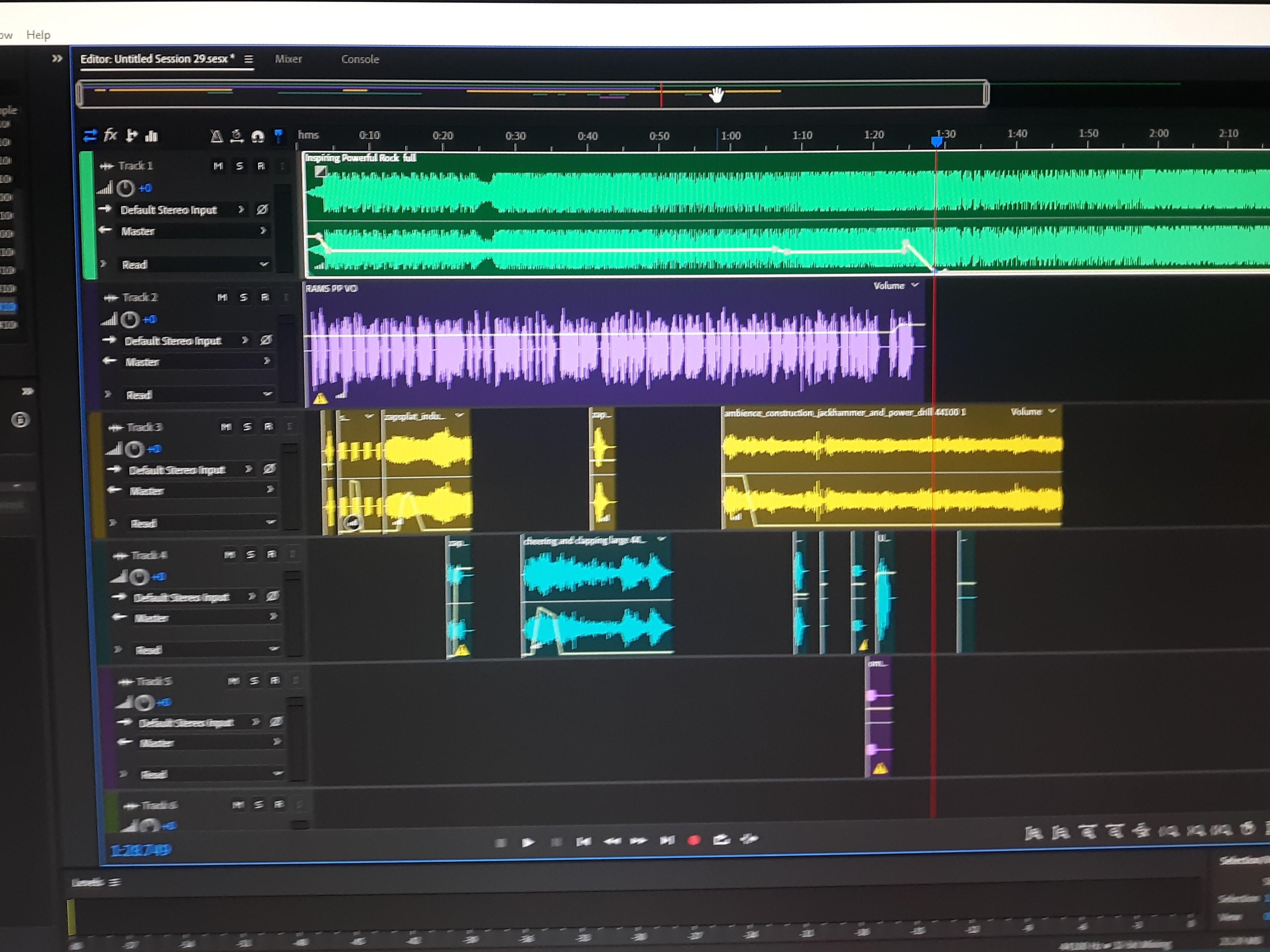 Audio Mixing and Sound Design