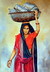 Indian Lady Paul Dene Marlor Watercolour Artist