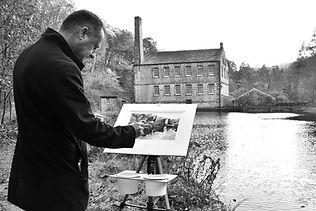 Paul Dene Marlor painting
