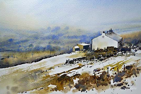 'Last of the snow Bolster Moor' by Paul Dene Marlor