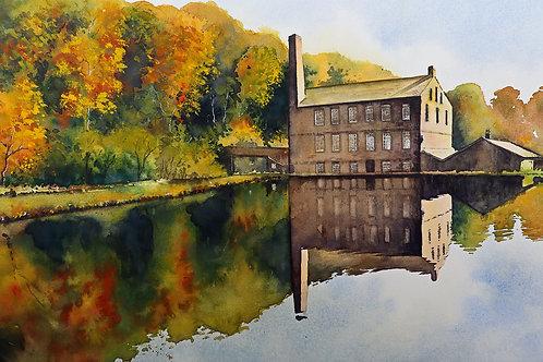 Autumn Colours Gibson Mill