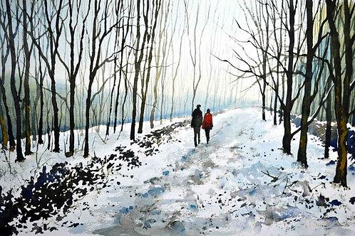 'Tree Lined Stroll' by Paul Dene Marlor
