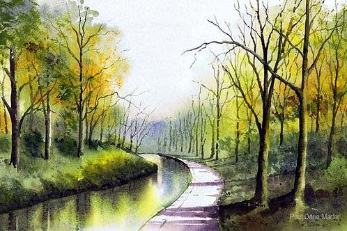 'Canal Sowerby Bridge' by Paul Dene Marlor