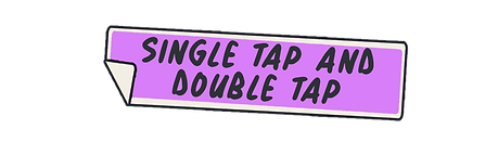 Single Tap and Double Tap Sticker.png