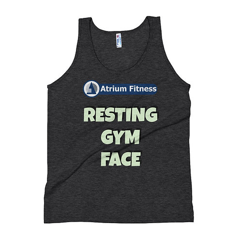 Unisex Tank Top - Resting Gym Face