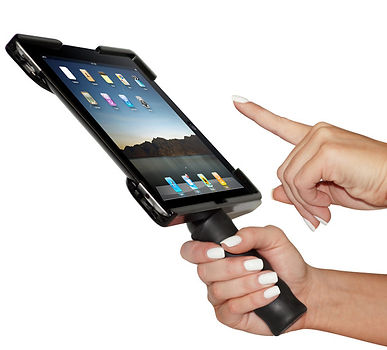 iPad 2 iPad 3 iPad 4 One handed iPad holder iPad case iPad accessories iPad holder Handle  iPad case