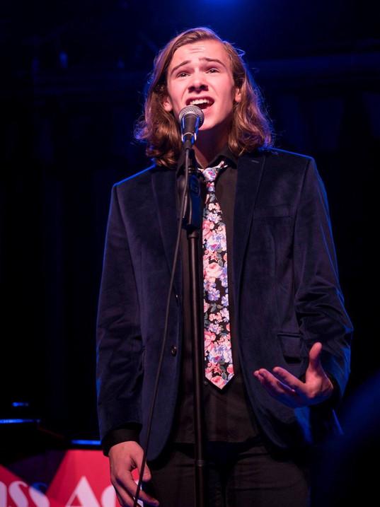 Jack Singing at a ACANY Cabaret