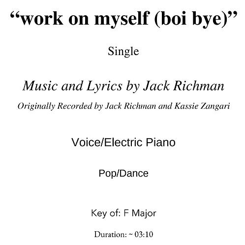 """work on myself (boi bye) [feat. Kassie Zangari] - Digital Sheet Music"
