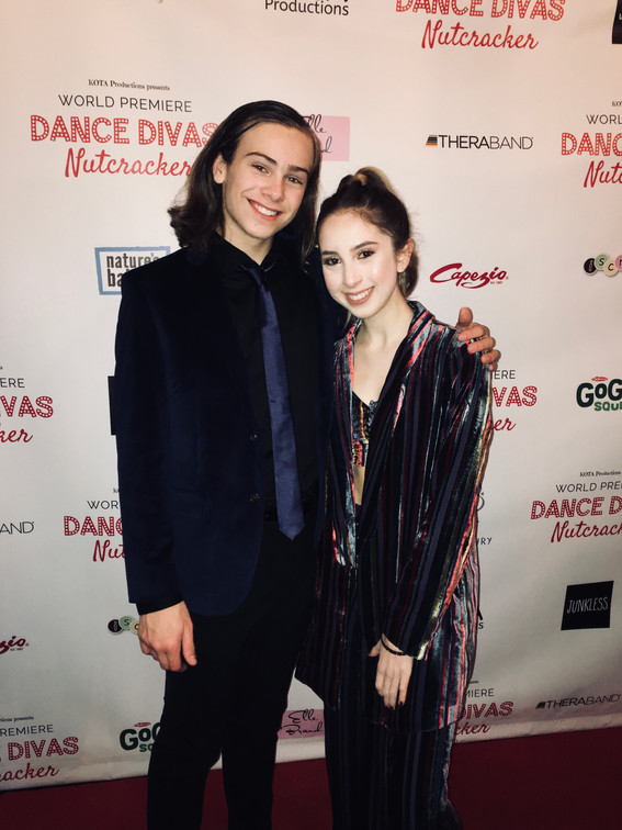 Jack and Carrie Berk at the Dance Divas Premire Red Carpet