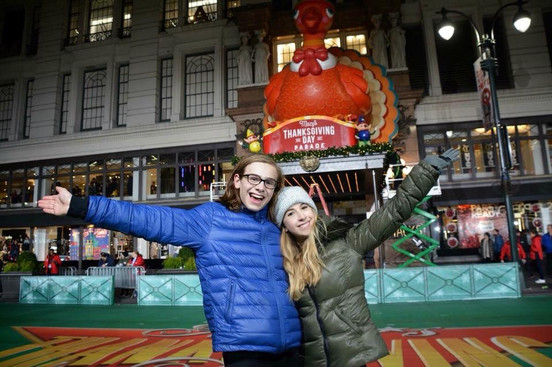 Jack and Carrie Berk Rehearsing for the Macy's Thanksgiving Parade