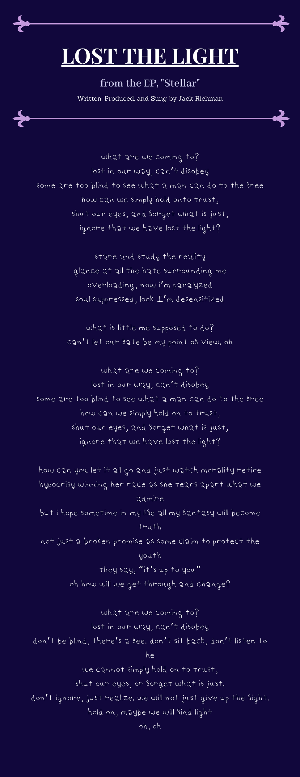 Lost the Light Lyrics.png