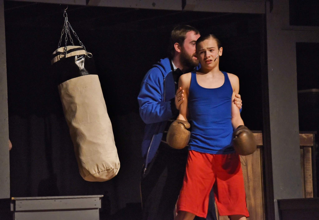 Jack as Michael in Billy Elliot