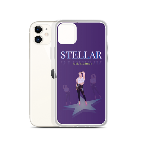 STELLAR   Jack Richman - iPhone Case - Purple