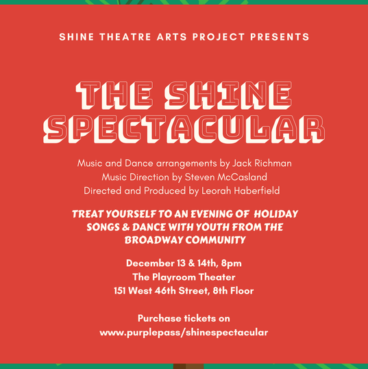 The Shine Holiday Spectacular 2019 Poster