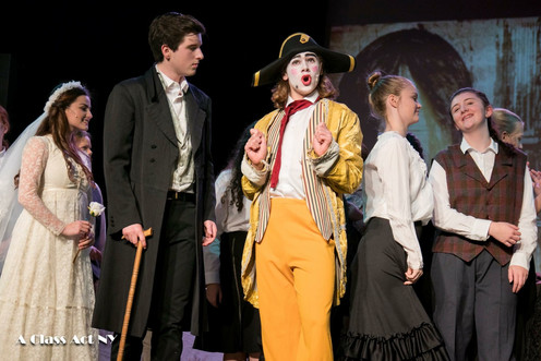 Jack as Thendardier in Les Mis