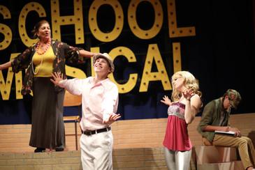 Jack as Ryan in High School Musical