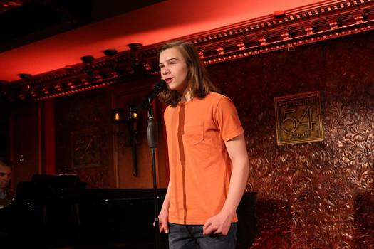 Jack Performing at 54 Below in NYC