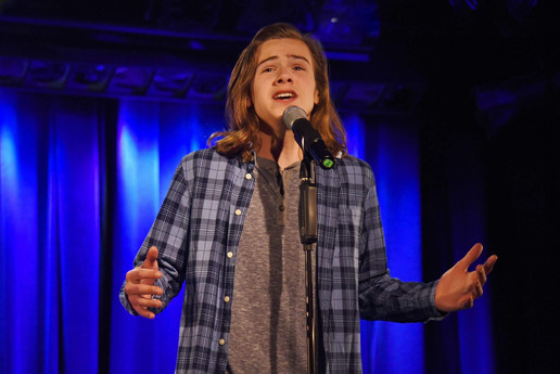 Jack Performing at the Laurie Beechman Theatre
