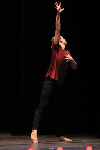 Jack Dancing at Bravo Dance Competition