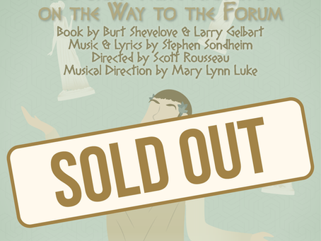 """""""A Funny Thing...Forum"""" is sold out!"""