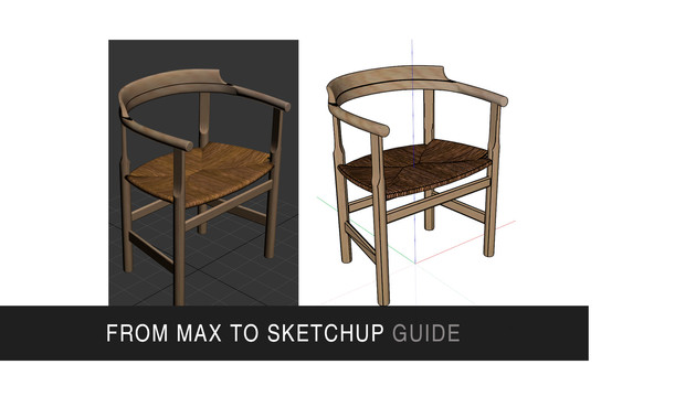 From max to Sketchup