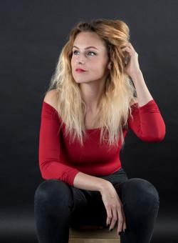 Portré, modell