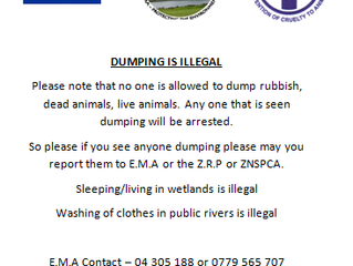 Dumping is Illegal!