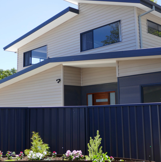 Family home on subdivided block in Bayswater