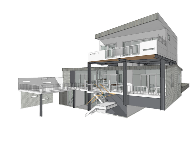 Spacewise Design will guide you through the process of defining the brief, achieving DA (Development Approval), BA (Building License) and refining construction drawings for builder or owner builder.